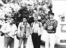 1990 m. iš kairės Smetona, Baltušis, neatsimenu, Kuncevičius