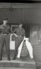 GJ archyvas A Sakalausko laidotuves Vainikas nuo MJ GV kuopos kariu